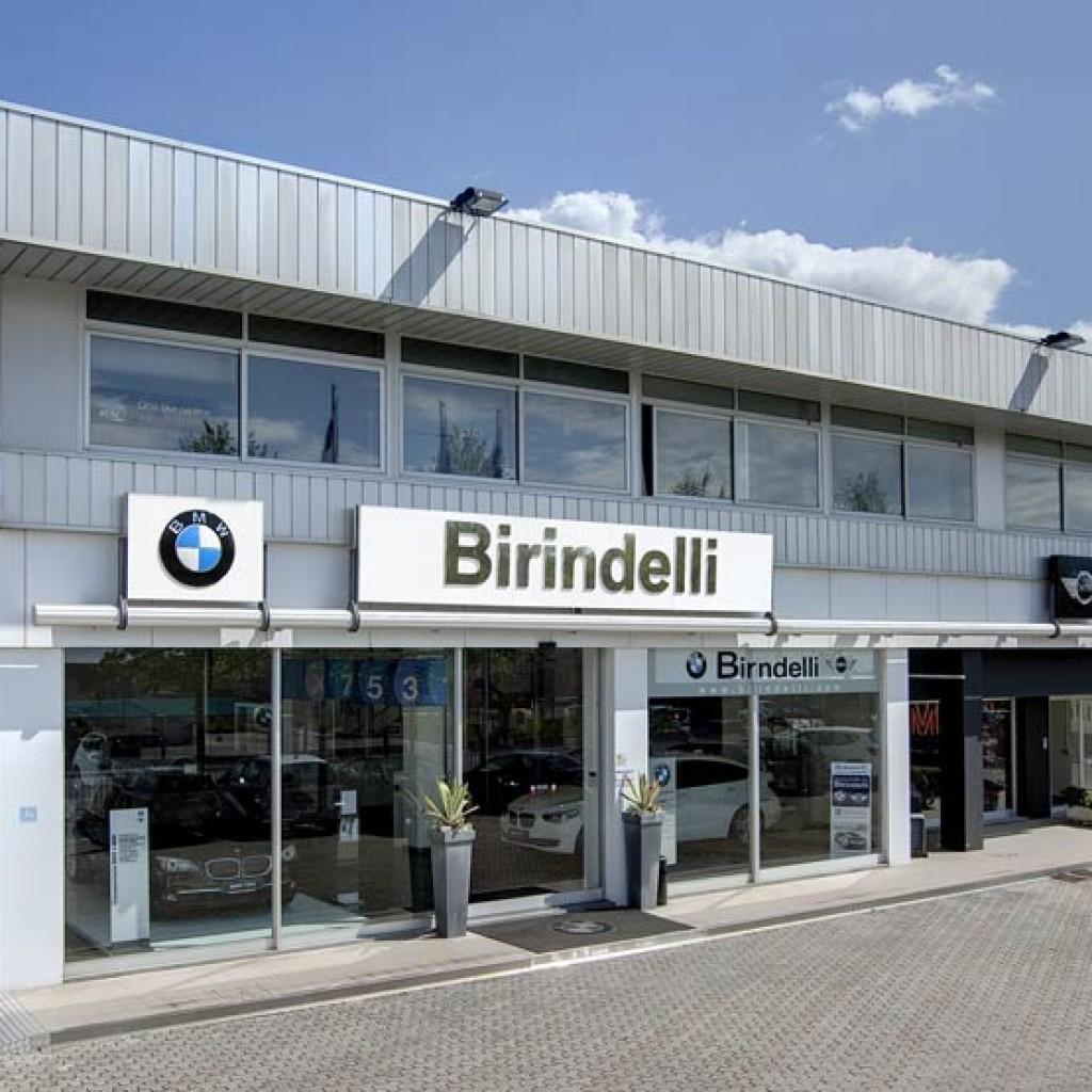 La concessionaria Birindelli di Monsummano