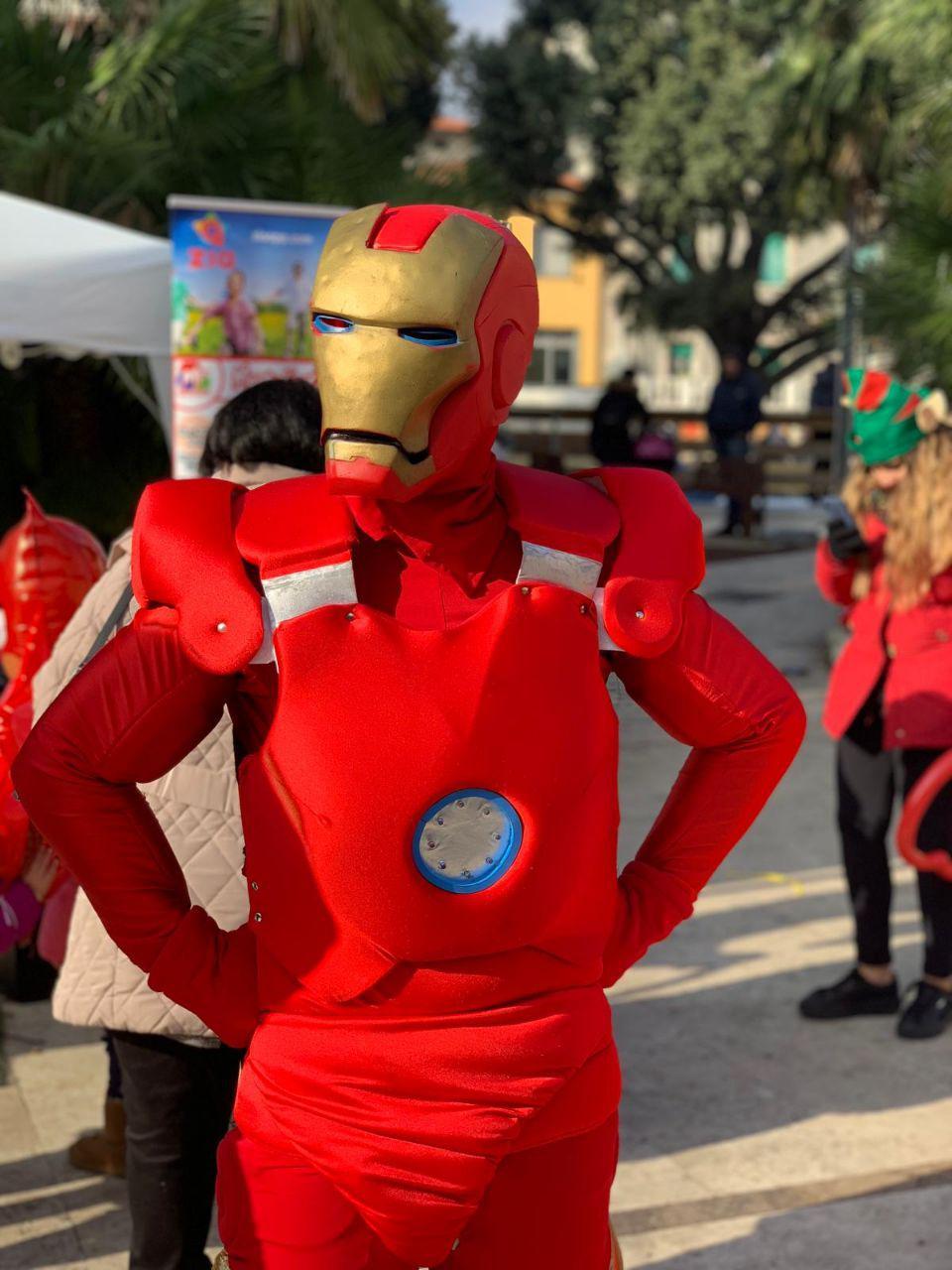 Mascotte Ironman - MonteFantasy Animation