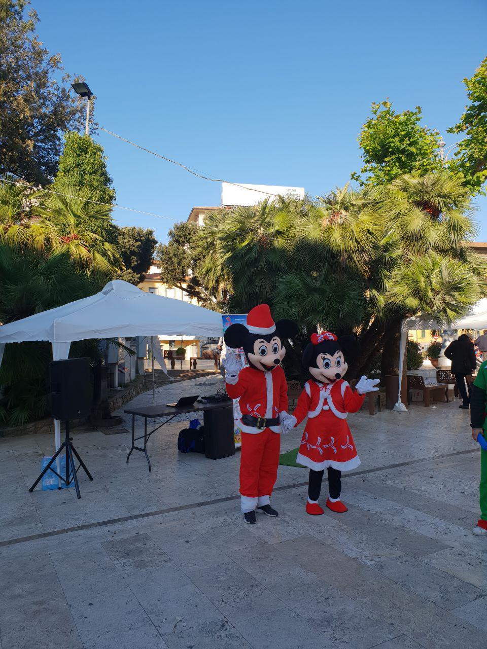 Mascotte Minnie e Topolino Natale - MonteFantasy Animation